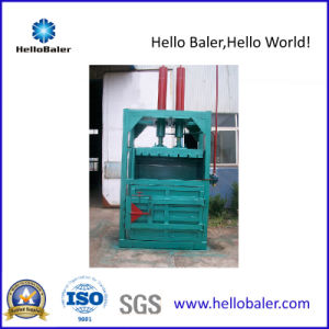 60t Hydraulic Pressing Force Vertical Baler for Plastic Cardboard pictures & photos