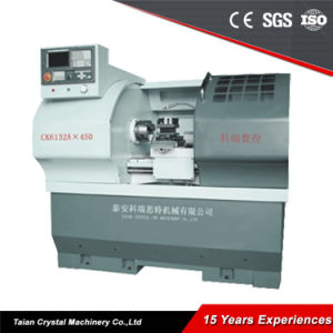 Mini Teaching CNC Lathe Machine Price (CK6132A) pictures & photos