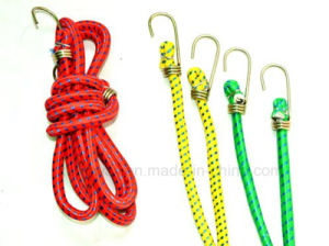 Round Style Metal Rubber Elastic Luggage Rope, Bungee pictures & photos