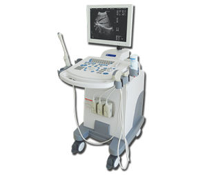 Med-B-Dw-880 Full-Digital 128 Trolley B/W Ultrasound Scanner pictures & photos
