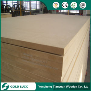 One Side Melamine Laminated MDF Board/Plain MDF pictures & photos