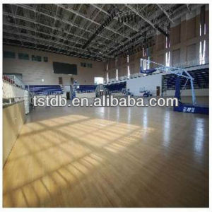 Jyst PVC Sports Indoor Flooring Used for Basketball Courts 6mm Thickness pictures & photos