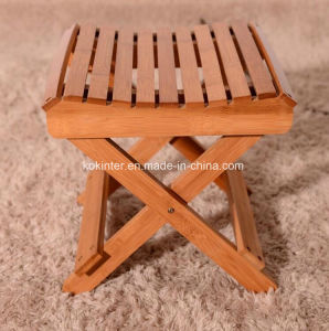 Bamboo Plywood Step Stool/Bamboo Foldable Fishing Stool pictures & photos