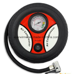 Car Portable Pump Mini Tire Inflator Air Compressor 260psi DC 12V New pictures & photos