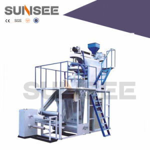 Sunsee PP-55/65 Water Cooling Single Layer PP Film Blowing Machine pictures & photos