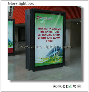 Business Centre Free Moving Scrolling Light Box Display (SR018) pictures & photos
