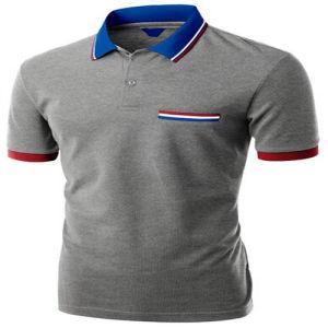 Hot Sale Custom Men′s Cotton Polo Shirt pictures & photos