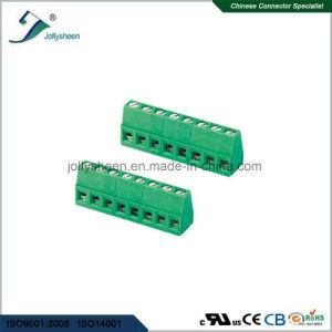 PCB Screw Terminal Blocks Pitch 7.5mm 90deg DIP Type pictures & photos