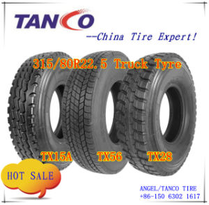 Tubeless Tyres for Trucks (315/80r22.5) pictures & photos