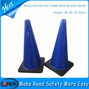 Australia Blue Color PVC Cone pictures & photos