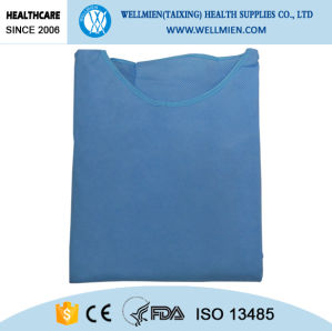 Sterile Disposable Nonwoven SMS Surgical Gown Waterproof pictures & photos