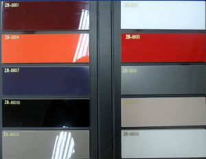 China 1 color sample of pure acrylic door panel for for Cabinet door sample bags