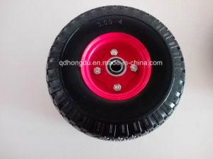 Solid Rubber Wheel (350-8) pictures & photos
