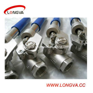 Manual Sanitary CF8m Stainless Steel Ball Valve pictures & photos