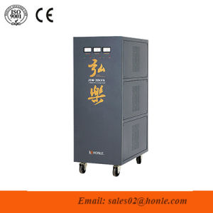 Jsw Series Precision Purifying Three Phase AC Automatic Voltage Stabilizer pictures & photos