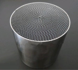 Motorcycle Catalytic Converter Catalyst Metal Honeycomb Substrate pictures & photos