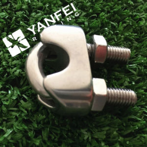 Stainless Steel AISI316/ 304 DIN741 Wire Rope Clamp pictures & photos