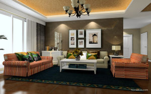 Professional MDF Door Wardrobe Bed Frame Living Room Furniture (zk-006) pictures & photos