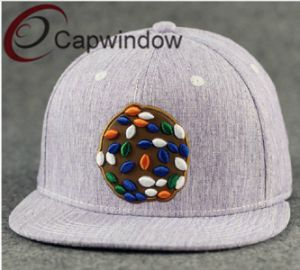 Contrast Colour Cotton Embroidered Fashion Leisure Baseball /Snapback Hat pictures & photos