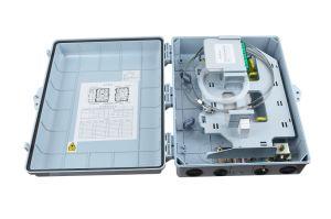 32cores plastic FTTH Distribution Splitter Box Fiber Optic Splitter Box Fiber Enclosure pictures & photos