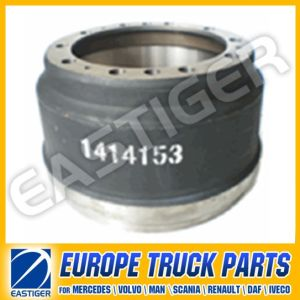 1414153 Brake Drum Truck Parts for (Scania 113) pictures & photos