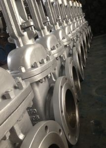 ASTM WCB Flanged Gate Valve (Z41H-150LB) pictures & photos