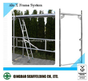 High Quality Aluminium Frame Scaffolding Manufacturer pictures & photos