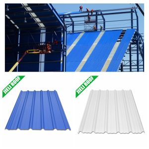 Color Lasting Corrugated UPVC Plastic Roofing Sheet pictures & photos