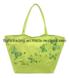 Embroider Beach Bag Made of Polyester pictures & photos