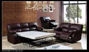 Living Room Sets Pull Out Bed china living room furniture genuine leather reclining sofa set