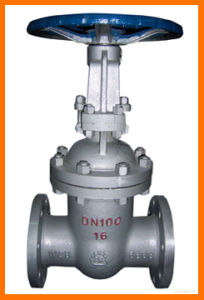 DIN Cast Steel Gate Valve pictures & photos