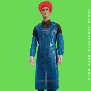 Disposable Waterproof PE Apron pictures & photos
