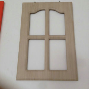 Europe PVC Vacuum Cabinet Door in Kitchen pictures & photos