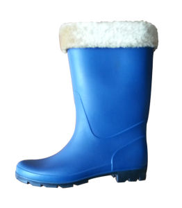 Ladies PVC Winter Boots pictures & photos