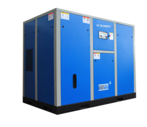 Variable Speed Driven Rotary/Screw Air Compressor (SCR100DV Series) pictures & photos
