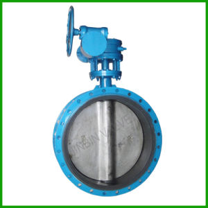 Concentric Type Butterfly Valve-Rubber Lined Worm Gear Butterfly Valve pictures & photos