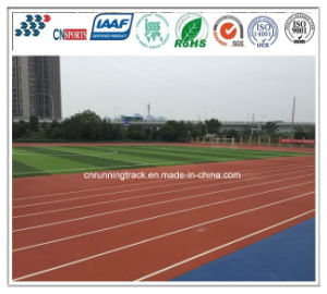 Non-Toxic and Harmless Rubber Runing Track of Sports Field pictures & photos