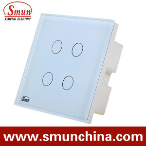 4 Key Touch Wall Socket, Remote Control Wall Switch ABS Material pictures & photos