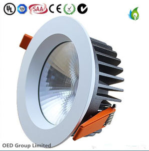 50W 8inch Low Price Aluminum COB Recessed LED Ceiling Down Light Ce SAA Ce Approved with 5years Warranty pictures & photos
