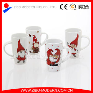 Stoneware Ceramic Mug with Christmas Printing pictures & photos
