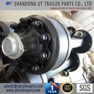 12 Ton 1840mm Track English Type Trailer Axle with 8 Holes pictures & photos