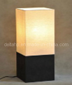 ... Wooden Decorative Table Lamps With Square Linen Shade C5007309c3 ...