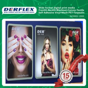 Super Flat PVC Flex Face Front Light Canvas for Digital Printing pictures & photos