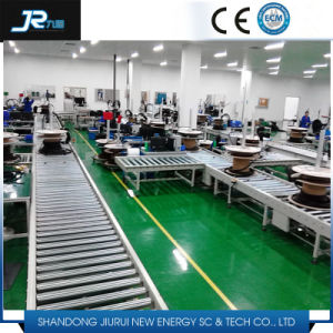 180 Degree Turning Steel Roller Conveyor for Logistics Line pictures & photos