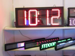 16 Inch LED Gas Price Signs Changer With Outdoor Waterproof IP65