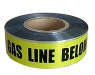 Al Foil Underground Detectable Warning Tape Yellow Color pictures & photos