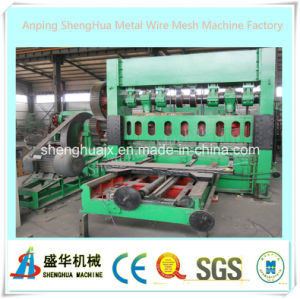 Anping Shenghua Factory Hot Sale Expanded Metal Plate Mesh Machine pictures & photos