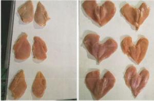Chicken Meat Slicer Machine, Model Fqj2-200-VI pictures & photos