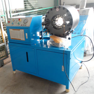 4inch Hose Crimping Machine Km-91d for MID East Area pictures & photos