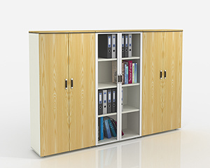 Aluminum Frame Glass Door File Cabinet pictures & photos
